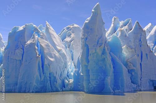 Foto op Canvas Gletsjers Ice Castles on a Sunny Day