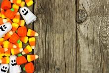 Halloween Candy Side Border Ag...
