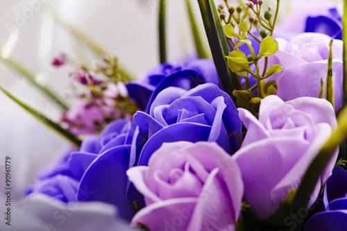 Fotobehang Bloemen roses