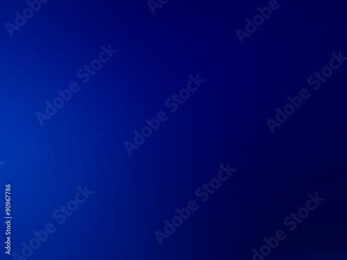 Fotografia, Obraz  blue gradient background, abstract illustration of deep water