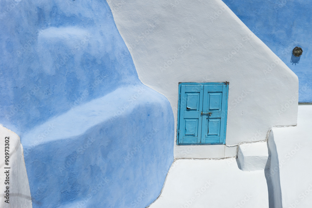 Fototapeta Architecture on the island of Santorini Greece