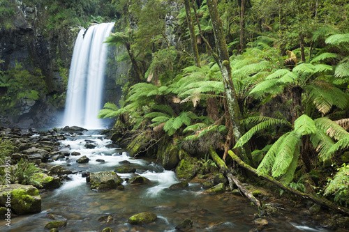 Rainforest waterfalls, Hopetoun Falls, Victoria, Australia