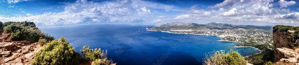 Fototapety, obrazy: Stunning gulf of Cassis view Provence France