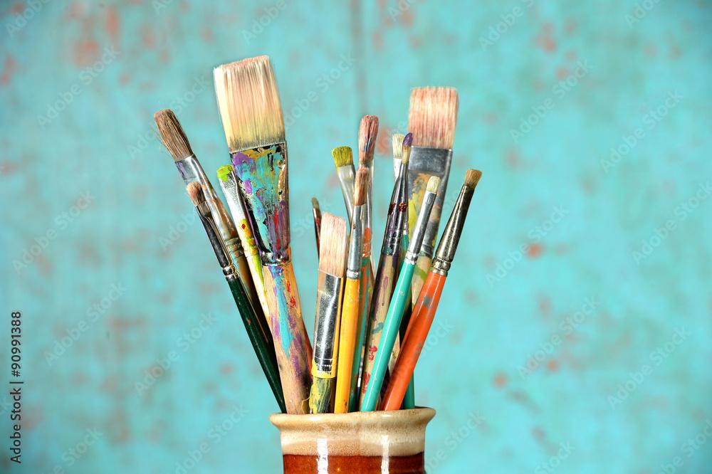 Fototapety, obrazy: Artist's PAintbrushes