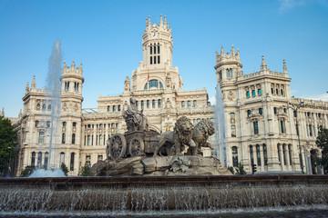 Plaza Cibeles in Madrid