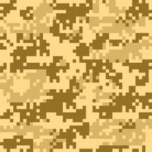 Digital Camouflage Seamless Pa...