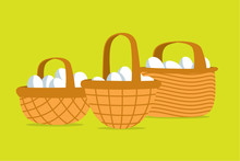 Many Eggs Put In Different Basket