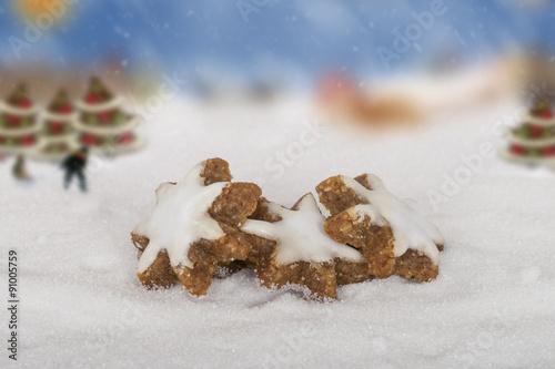 Weihnachtsgebäck Zimtsterne.Zimtsterne Weihnachtsgebäck Buy This Stock Photo And Explore