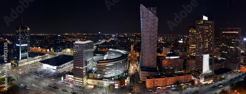 Warsaw by night - 91013330