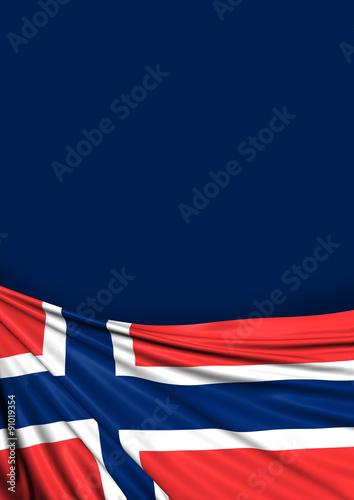 Photo  Norway Flag, Norwegian Background