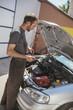 In Auto Service