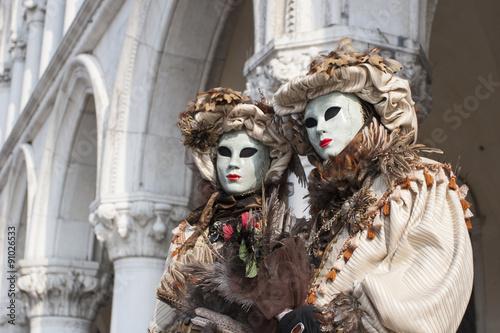 Stickers pour portes Venise Carnevale Venezia 2012.