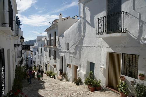 Fotografía  Pueblos blancos de la provincia de Málaga, Frigiliana