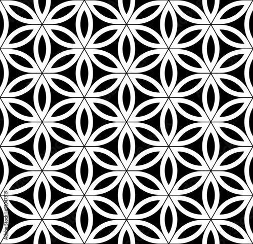 wektorowy-nowozytny-bezszwowy-swiety-geometria-wzor-czarny-i-bialy-abstrakcjonistyczny