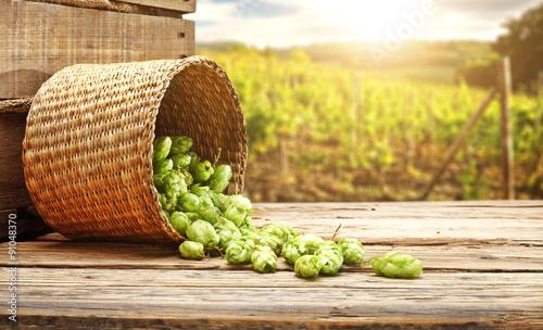 desk of beer space
