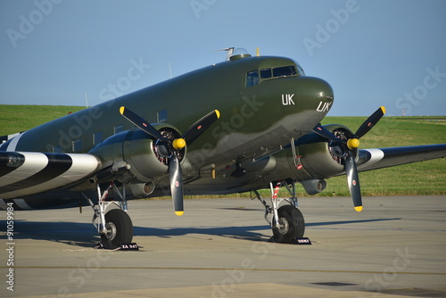 Douglas Dakota DC3, U Canvas Print