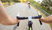 Guidando La Bicicletta In Velo...