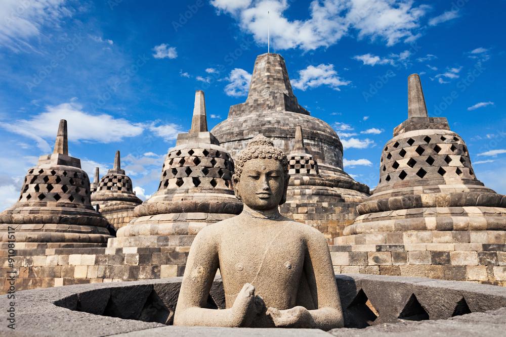 Fototapety, obrazy: Świątynia Borobudur