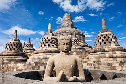 Obraz Świątynia Borobudur - fototapety do salonu