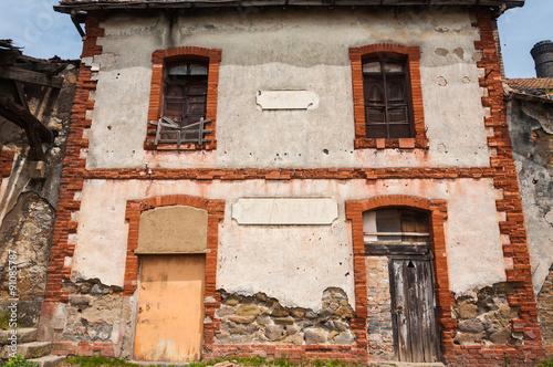 Fényképezés  Cerco industrial de Peñarroya-Pueblonuevo XXXIV, antigua estación de ferrocarril