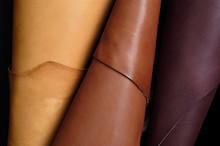 Skins Sample, Leather