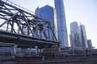 мост и небоскребы