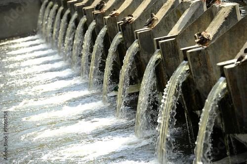 Fotografía  Waste water treatment plant