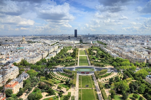 Photo  Paris Champ de Mars