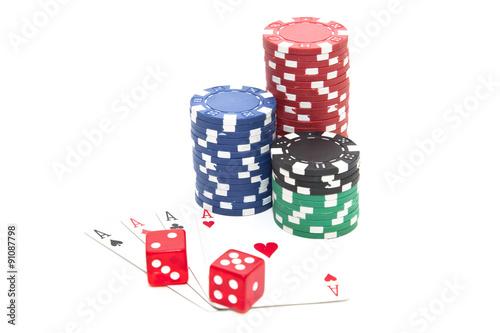 Juliste  Gambling