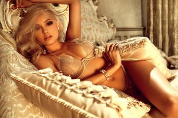 Princess in luxury