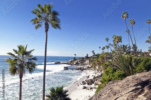 Fototapeta  Californian Beach