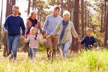 Happy Multi-generation Family ...