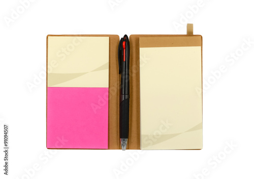 Photo  Notebook and stationary