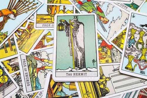 Stampa su Tela Tarot cards Tarot