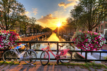 Beautiful Sunrise Over Amsterd...