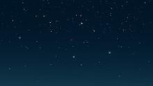 Starry Night Sky. Digital Back...