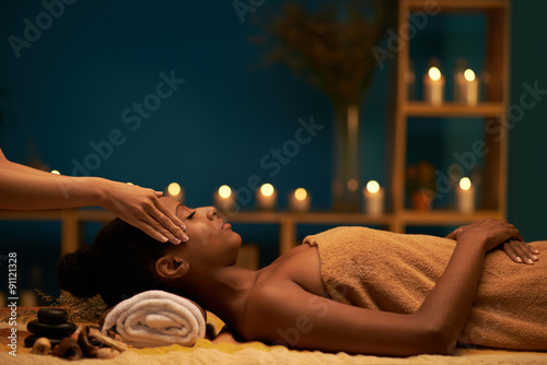 Luxury spa resort Canvas Print