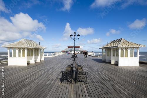 A Walk on Cromer Pier Fototapete