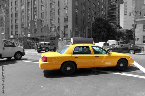 Foto op Canvas New York TAXI Straßenszenen aus New York, USA