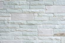 Grey Granite Stone Brick On The Wall