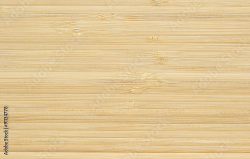 Bamboo Wood Surface Background Canvas Print