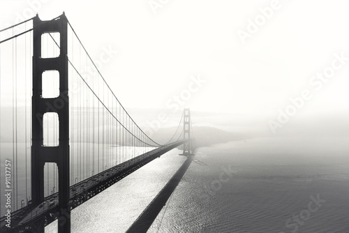Keuken foto achterwand Bruggen Golden Gate