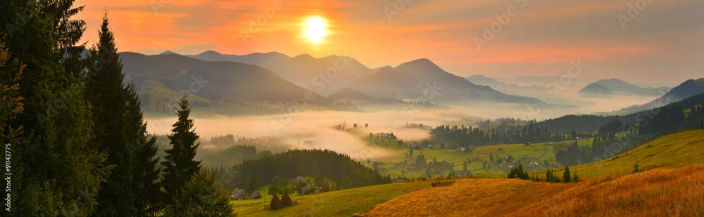 Fototapety, obrazy: Morning countryside