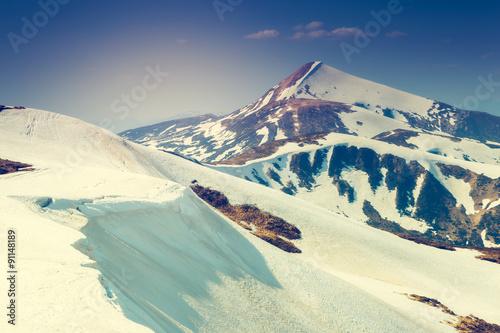 magical mountains landscape - 91148189