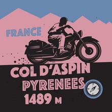Vintage Motorcycle Adventure P...