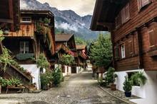 Brienz Village, Berne Canton, ...