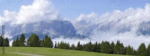 Nebel in den Sextener Alpen #91177781