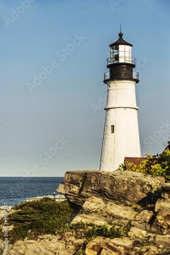Foto op Aluminium Vuurtoren Portland Head Lighthouse