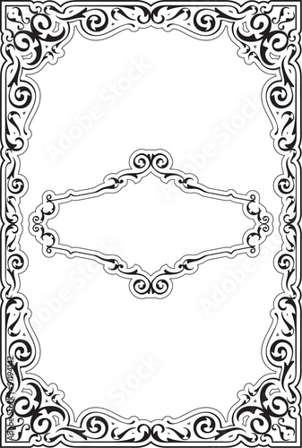 The victorian ornate nice frame - Buy this stock vector and explore ...