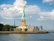 The Statue of Liberty on a beautiful summer day